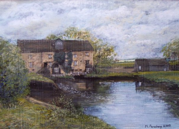 phoca_thumb_l_Barnwell Mill (gouache)