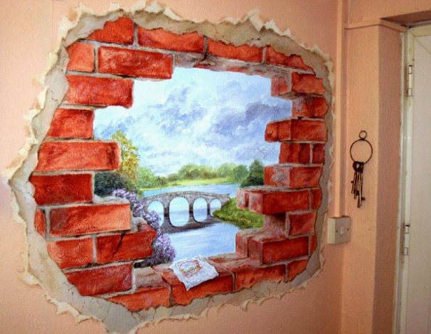 phoca_thumb_l_Hole in Wall Mural