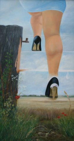 phoca_thumb_l_Stairway to Heaven (oil)