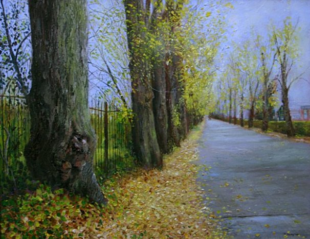 phoca_thumb_l_The Walks, Wellingborough (oil)