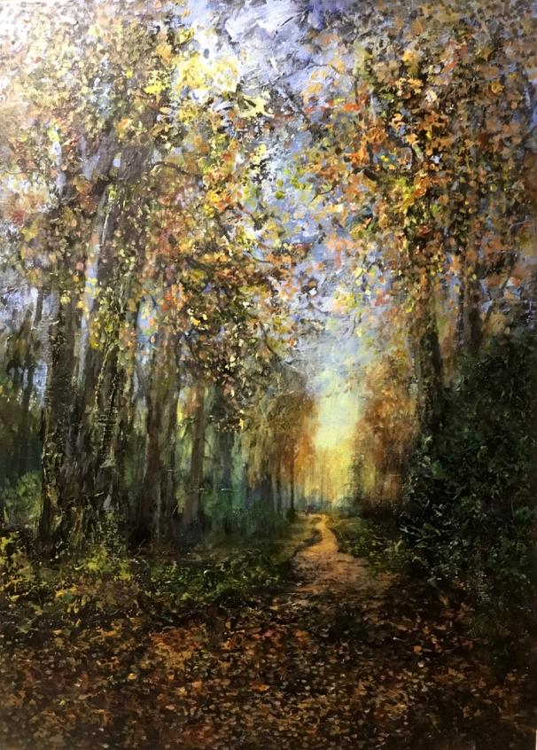 Painting - Woods Acrylic web